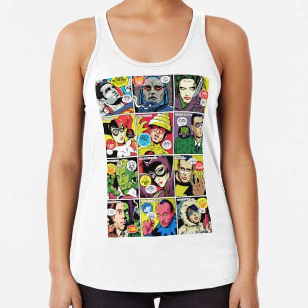 Post-Punk Baddies Racerback Tank Top