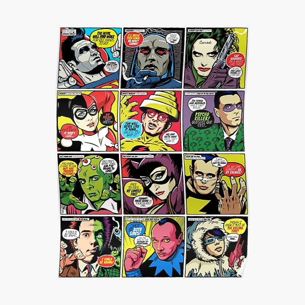 Post-Punk Baddies Poster