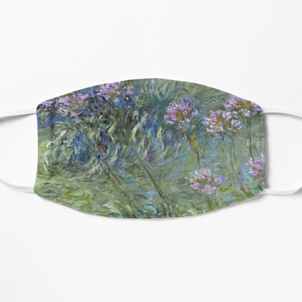 Agapanthus - Claude Monet  Mask