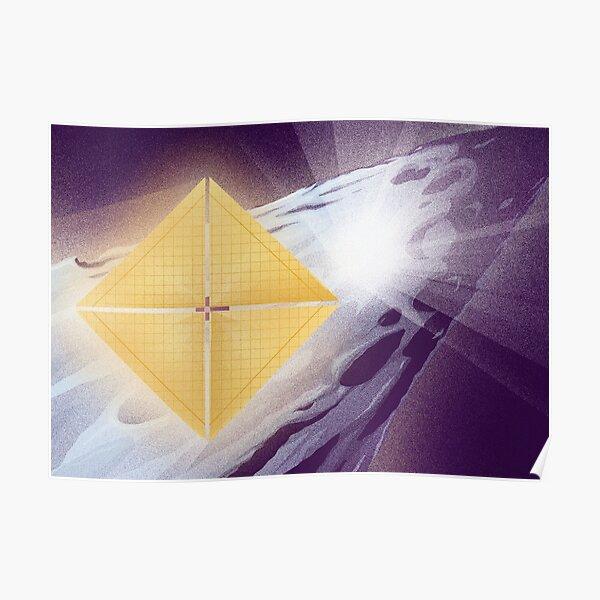 'Oumuamua Lyra Poster