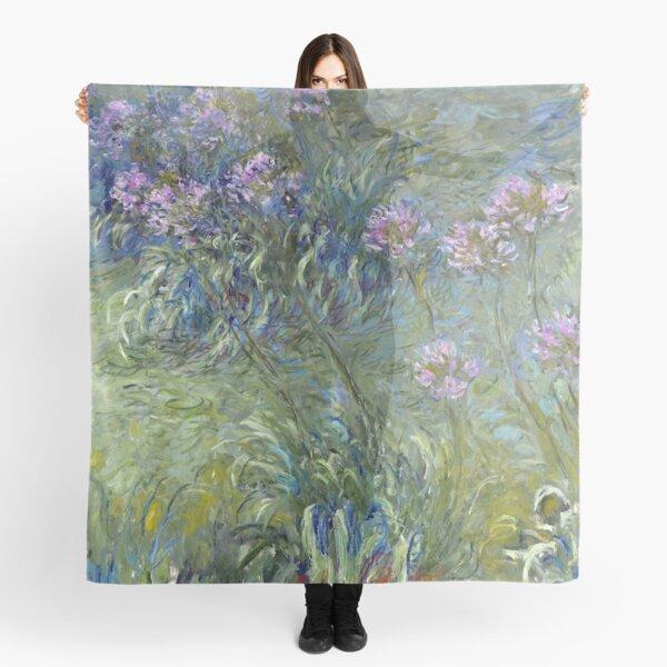 Agapanthus - Claude Monet  Scarf