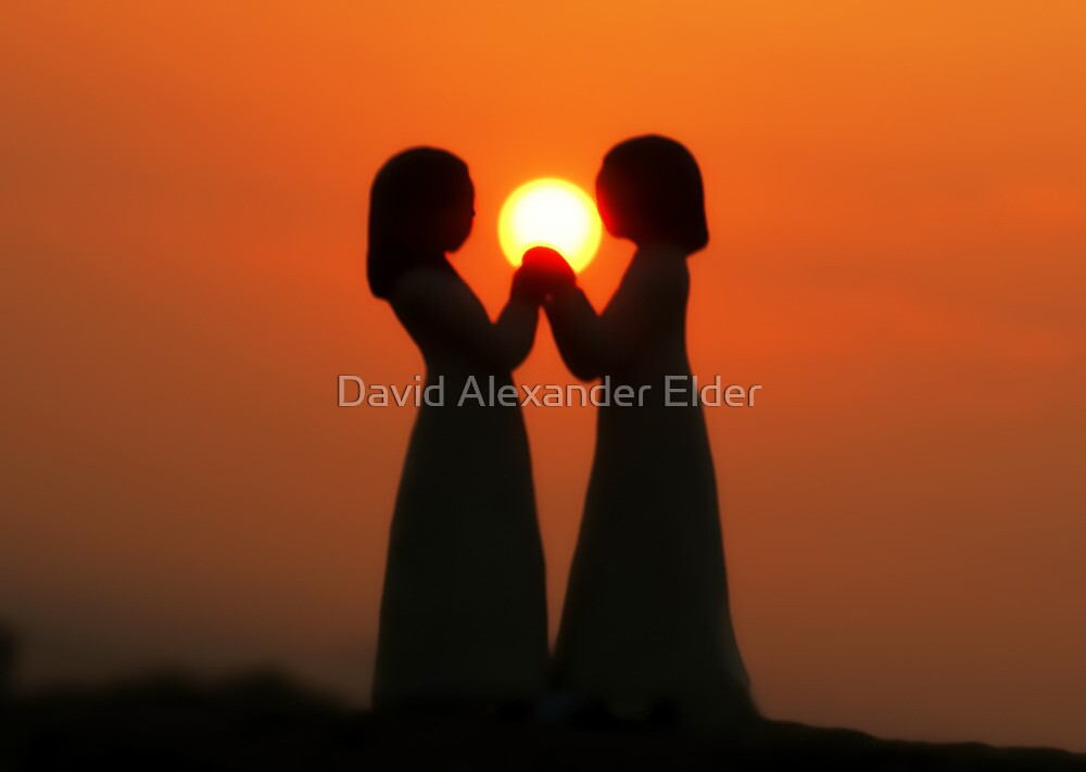 Peace, Love and Friendship by David Alexander Elder