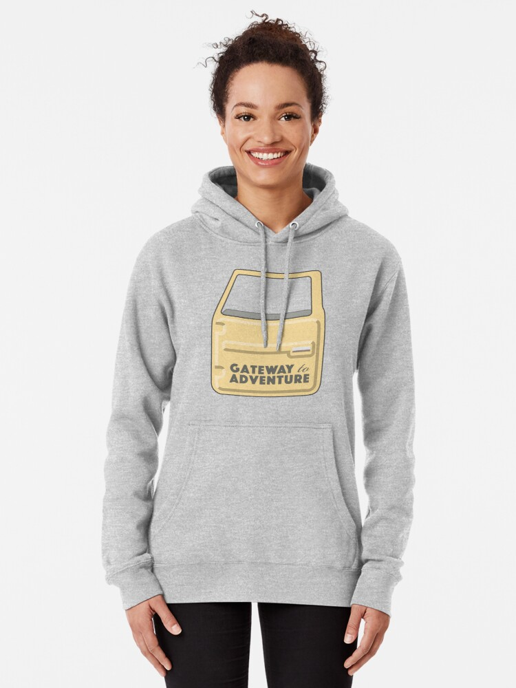 Alternate view of Gateway to Adventure Pullover Hoodie