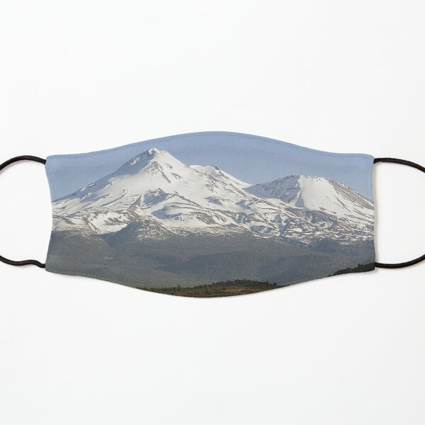 Mt. Shasta from Highway 97 Kids Mask