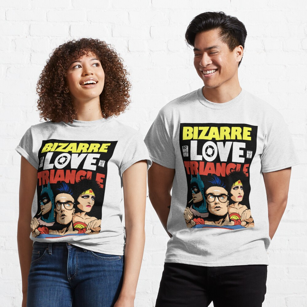 Butcher Billy's Bizarre Love Triangle: The Post-Punk Edition Classic T-Shirt