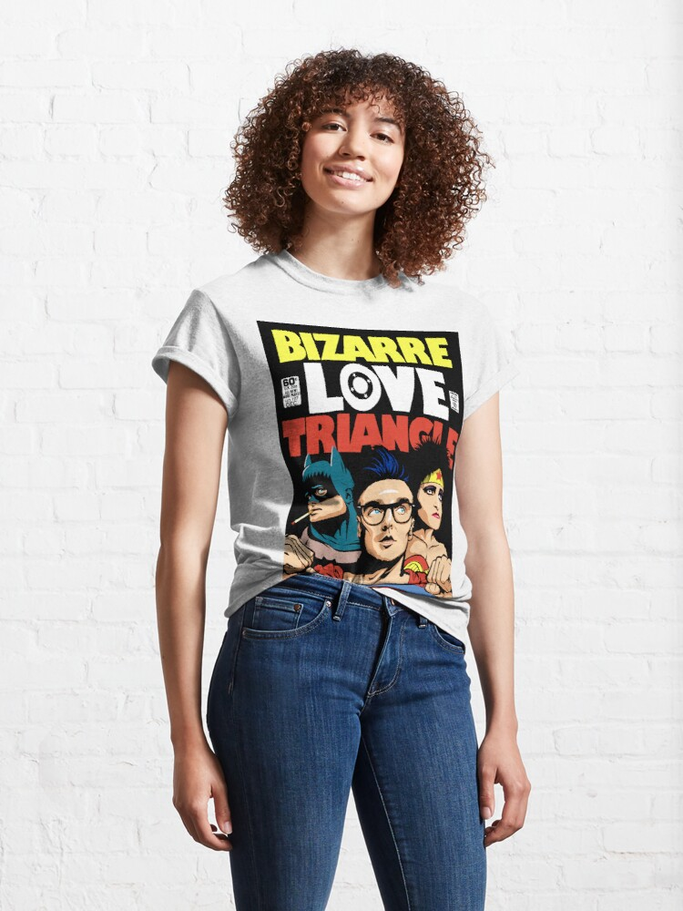 Alternate view of Butcher Billy's Bizarre Love Triangle: The Post-Punk Edition Classic T-Shirt