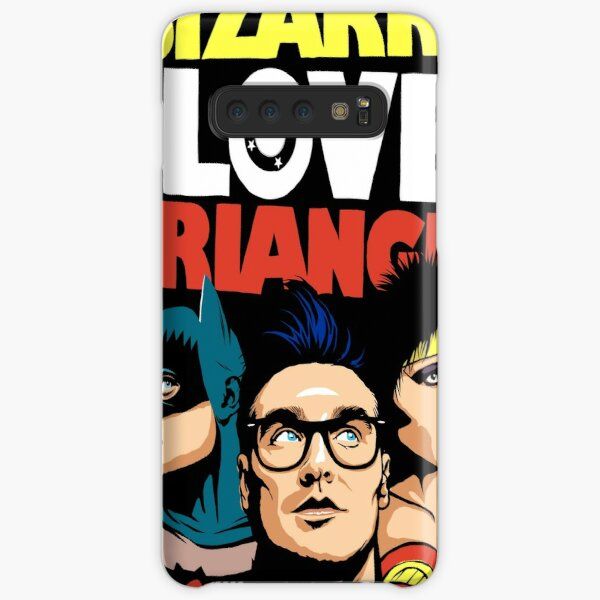 Triángulo de amor extraño de Butcher Billy: The Post-Punk Edition Funda rígida para Samsung Galaxy