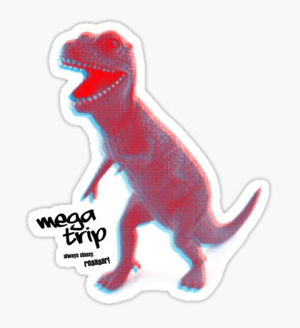 Always Classy (in three dimensions) Sticker