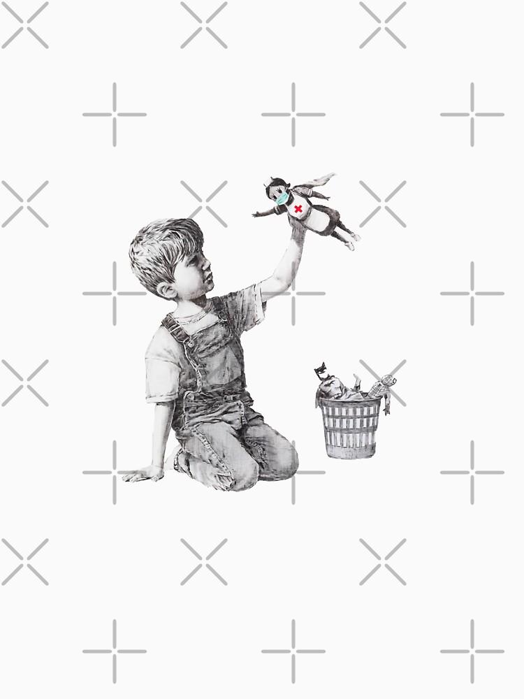 Banksy tribute to nurses by dualogy