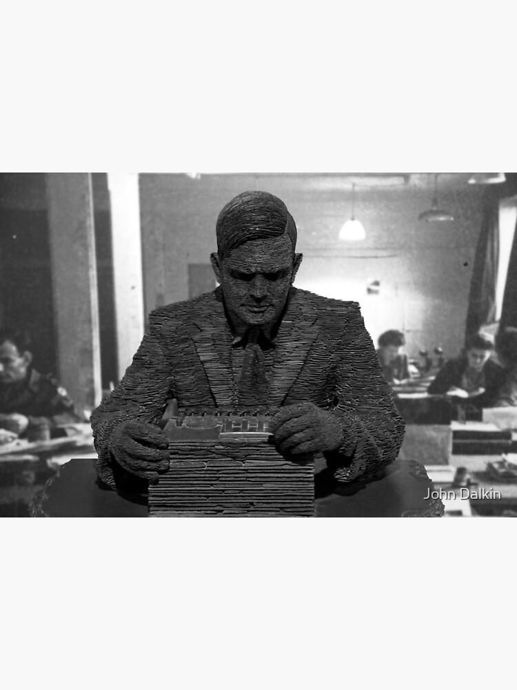 Alan Turing Statue by JohnDalkin