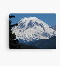 Remarkably Free - Majestic Mount Rainier Canvas Print