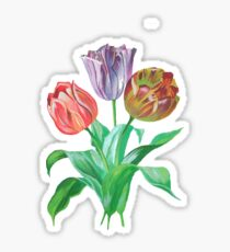 Tulip Trio Tee Sticker