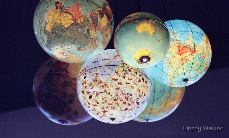 Baby Gift Baskets Toowoomba : Quot globes stickers by linsey walker redbubble
