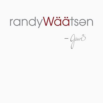Randy Waatsen by jawidesign