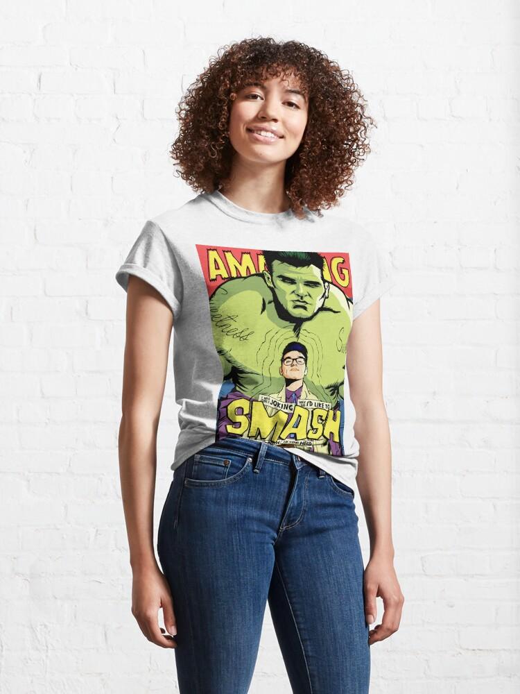 Alternate view of Post-Punk Smash Classic T-Shirt