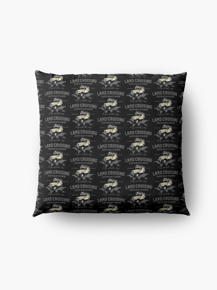 Alternate view of Every Mile Tells a Story - transparant Floor Pillow