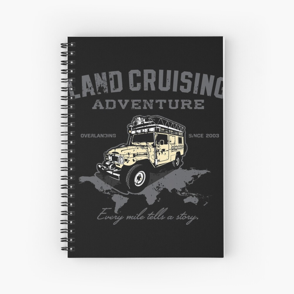 Every Mile Tells a Story - transparant Spiral Notebook