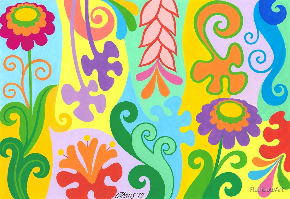 FLOWER DREAM by RainbowArt