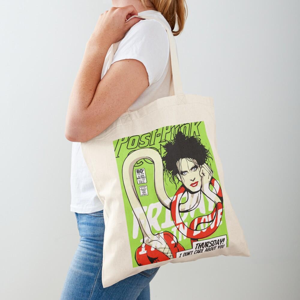 Post-Punk Heroes | Plastic Tote Bag