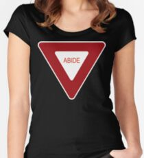 Abide [Tee & Case] Women's Fitted Scoop T-Shirt