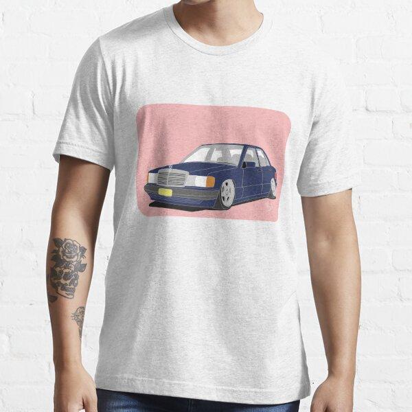 Autoabbildung - Mercedes 190 e Essential T-Shirt