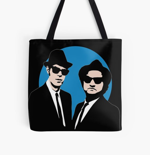 Blues Brothers  All Over Print Tote Bag