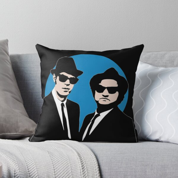 Blues Brothers  Throw Pillow