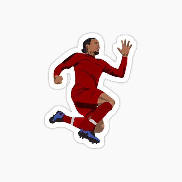 Virgil van Dijk STICKERS TSHIRTS BEDDING Sticker