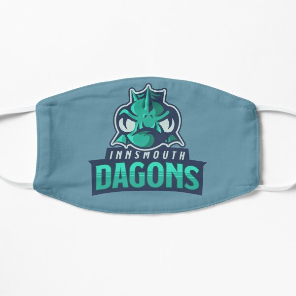 Innsmouth Dagons Team Logo   Call of Cthulhu Lovecraft Flat Mask