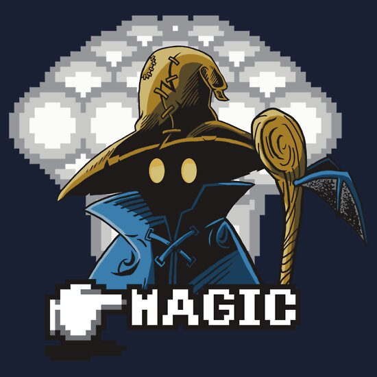 TShirtGifter presents: Black Mage