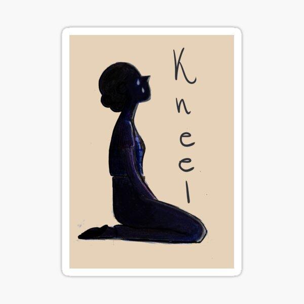 Fleabag - Kneel Sticker