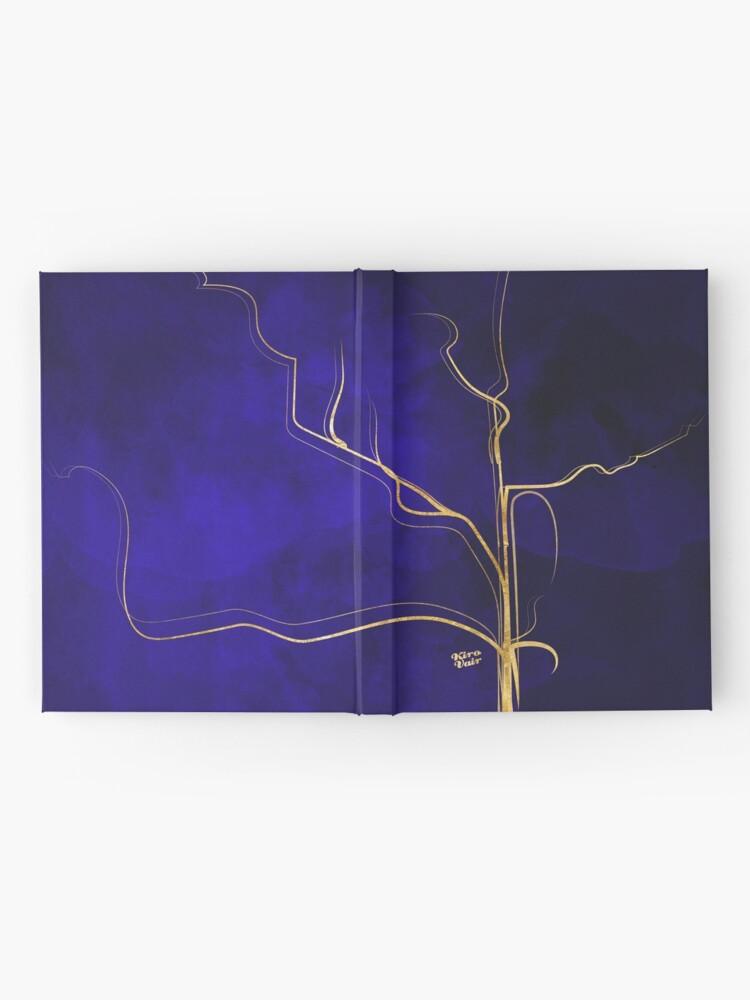 Alternate view of Kintsugi Gold Royal Blue Hardcover Journal
