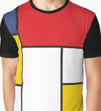 In the Style of Mondrian Graphic T-Shirt
