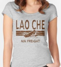 Lao Che Air Freight Women's Fitted Scoop T-Shirt