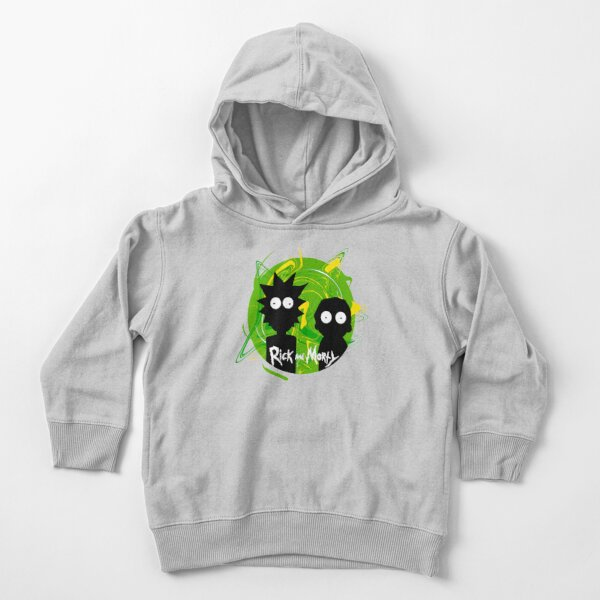 Rick & Morty Shadows Toddler Pullover Hoodie