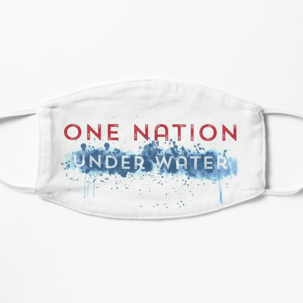One Nation Under Water Mask