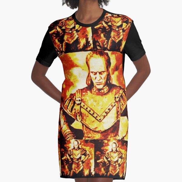 Great Ghostbuster Vigo Graphic T-Shirt Dress