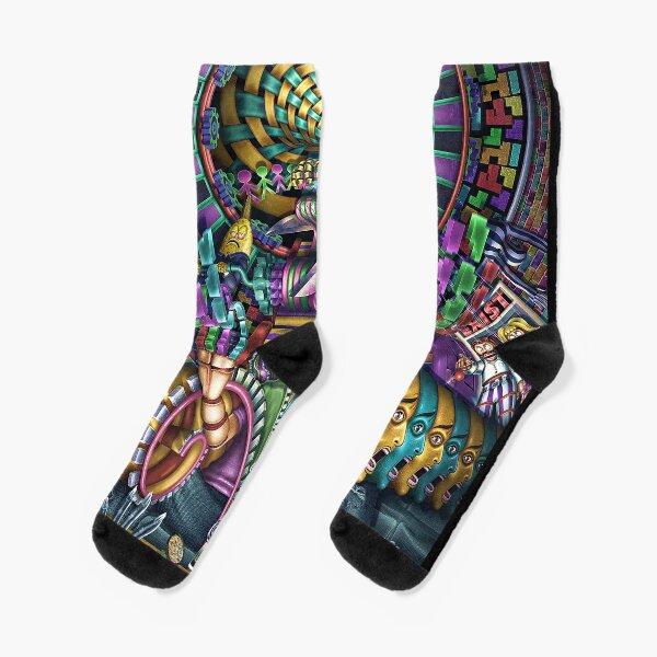 EXI(S)T Socks