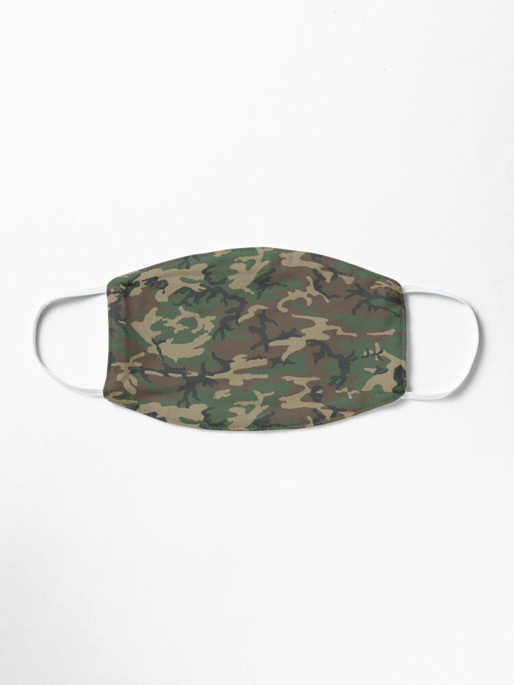 Alternate view of Military camo face mask Mask