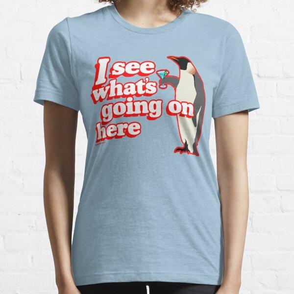 Drunken Penguin Jealousy Essential T-Shirt
