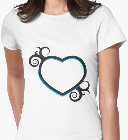 Double Hearts and Swirls T-Shirt