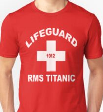 RMS Titanic Lifeguard Unisex T-Shirt