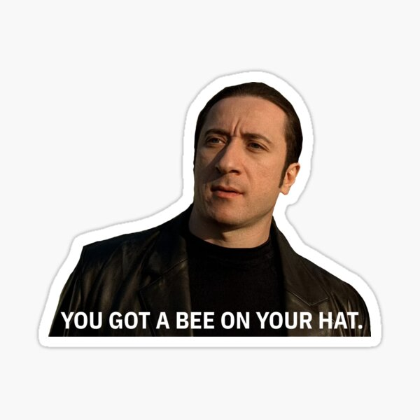 Bee Hat Furio Sticker