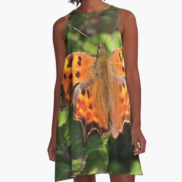 Moth/Butterfly in the Wild A-Line Dress
