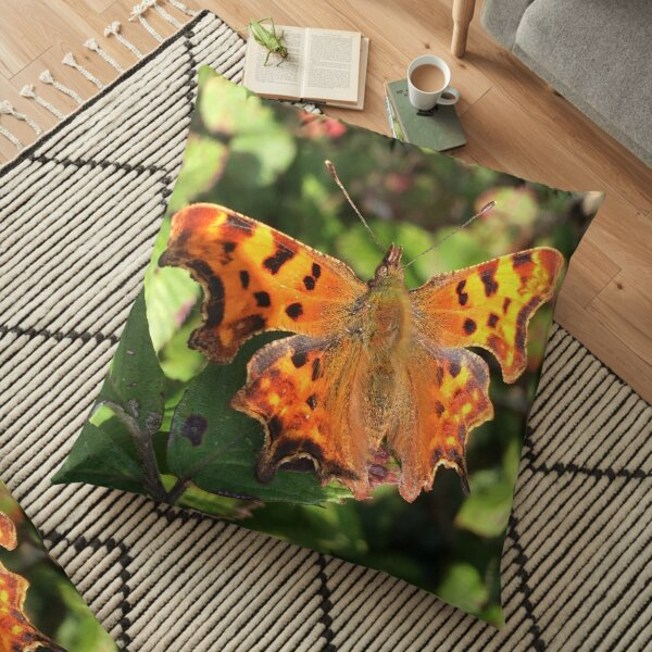 Moth/Butterfly in the Wild Floor Pillow