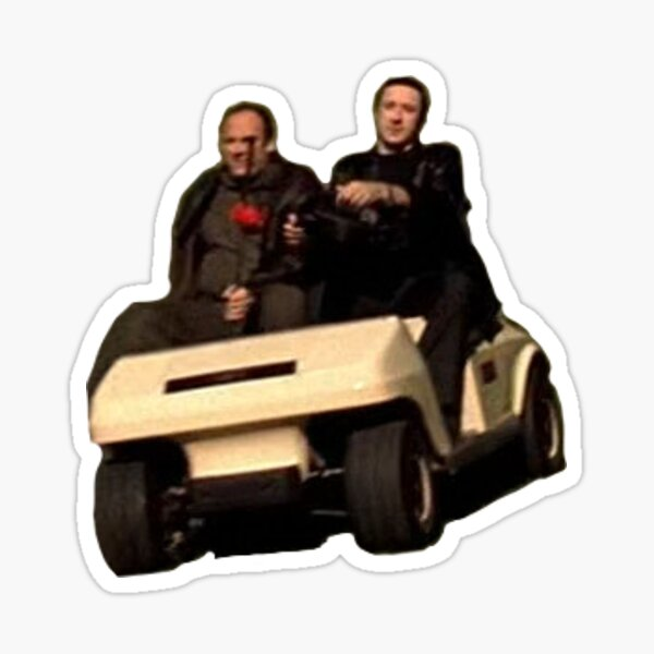Tony & Furio's Mean Machine Sticker