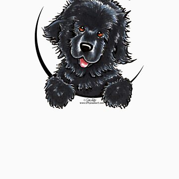 Black Newfie :: Its All About Me by offleashart