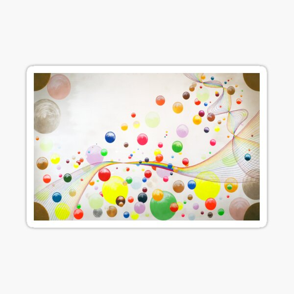 Farbenspiel Sticker
