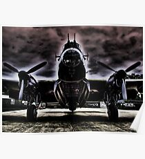 Ghostly Just Jane Bomb Doors Open - HDR Poster