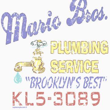Mario Brothers Plumbing by kaptainmyke